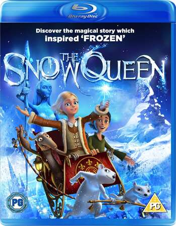 The Snow Queen (2012) Dual Audio Hindi 480p BluRay 250MB ESubs Full Movie Download