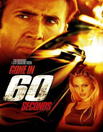 Gone in 60 Seconds 2000 English 720p BluRay 1GB ESubs