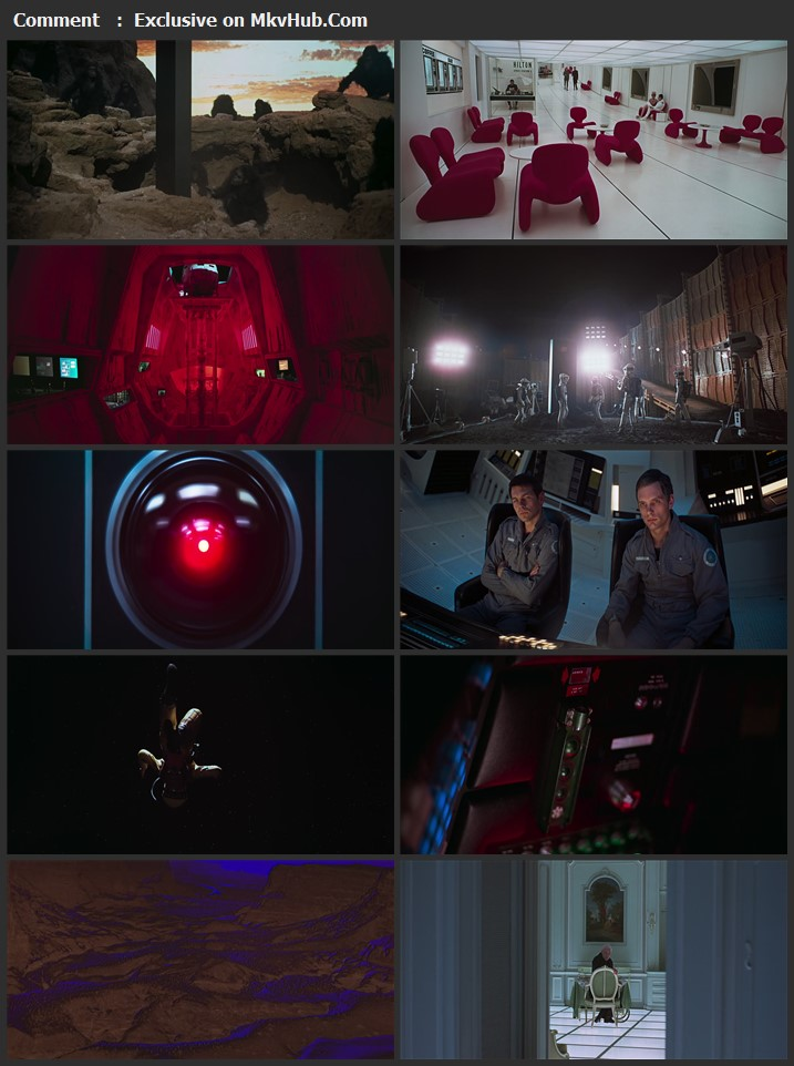 2001: A Space Odyssey 1968 English 720p BluRay 950MB Download