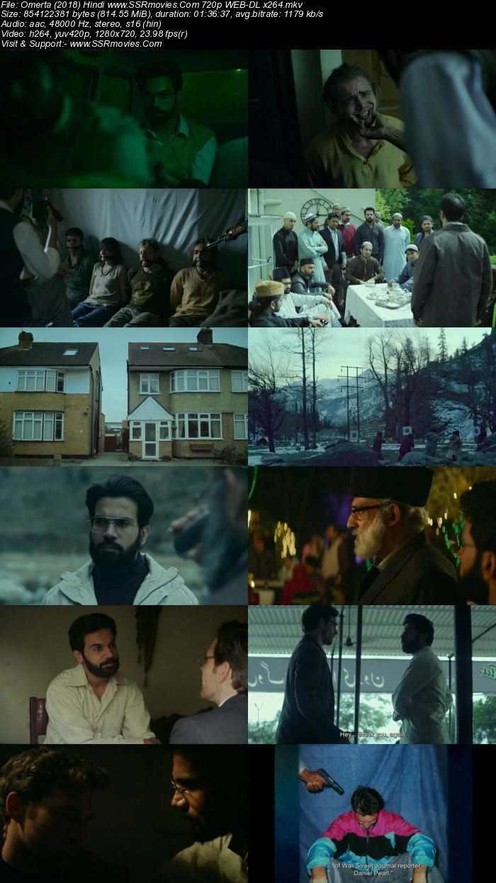 Omerta (2017) Hindi 1080p WEB-DL x264 1.1GB ESubs Full Movie Download