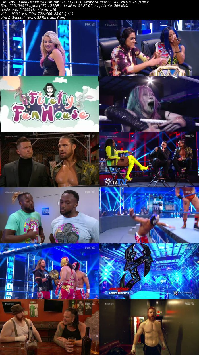 WWE Friday Night SmackDown 24 July 2020 Full Show Download
