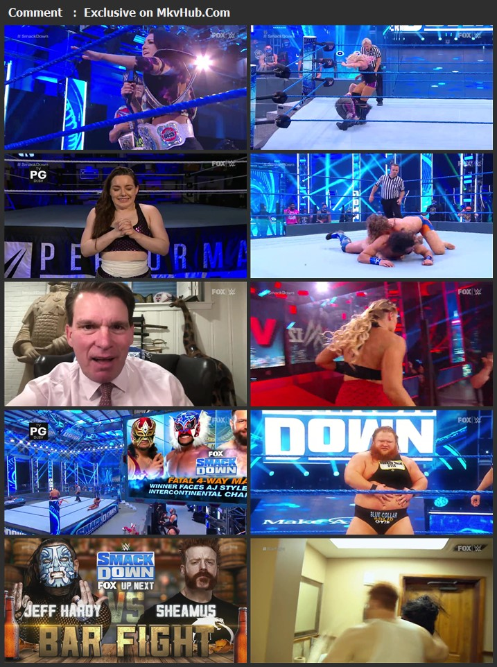 WWE Friday Night SmackDown 24 July 2020 720p HDTV x264 750MB Download