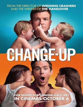 The Change-Up (2011) Dual Audio Hindi 480p BluRay x264 350MB ESubs Full Movie Download