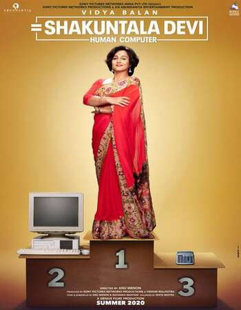 Shakuntala Devi 2020 Hindi 1080p WEB-DL 2GB ESubs