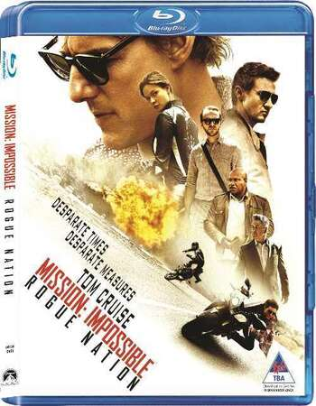 Mission Impossible 5 (2015) Dual Audio Hindi 480p BluRay 400MB ESubs Full Movie Download
