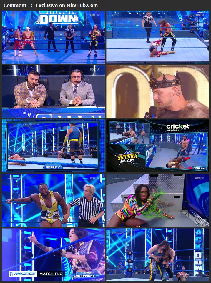 WWE Friday Night SmackDown 31 July 2020 720p HDTV x264 750MB Download