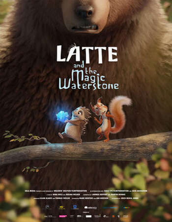 Latte & the Magic Waterstone (2019) Dual Audio Hindi 480p WEB-DL 300MB Full Movie Download