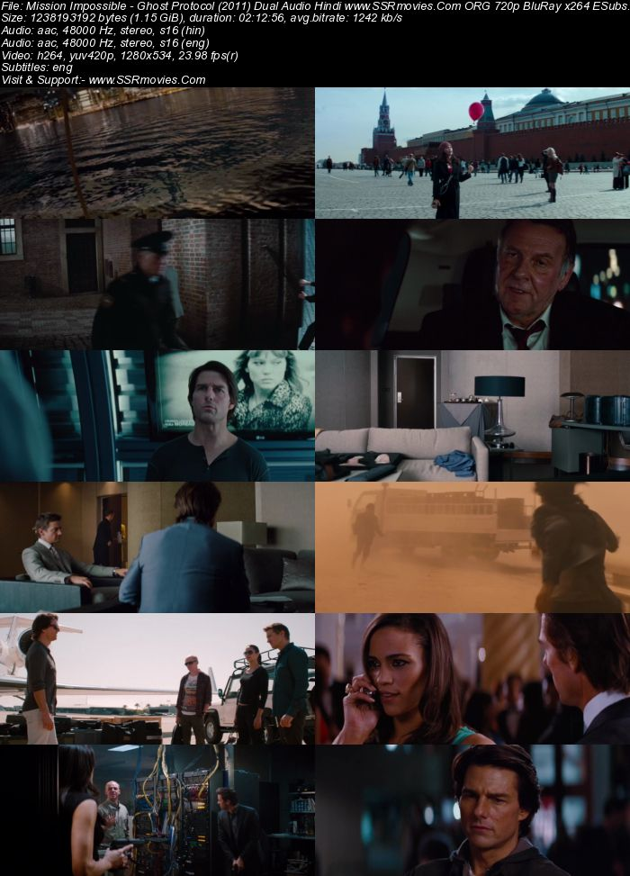Mission Impossible (2011) Dual Audio Hindi 480p BluRay 450MB ESubs Full Movie Download