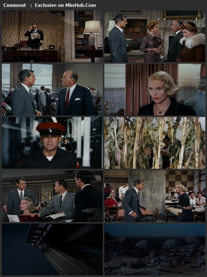 North by Northwest 1959 English 720p BluRay 1GB Download
