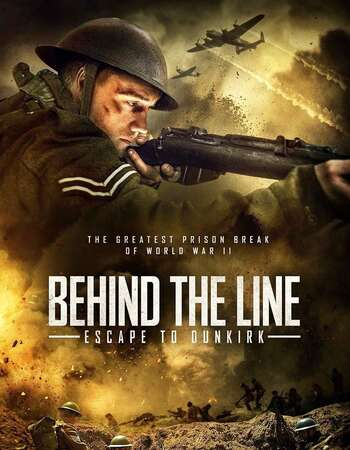 Behind the Line Escape to Dunkirk 2020 English 720p WEB-DL 750MB Download