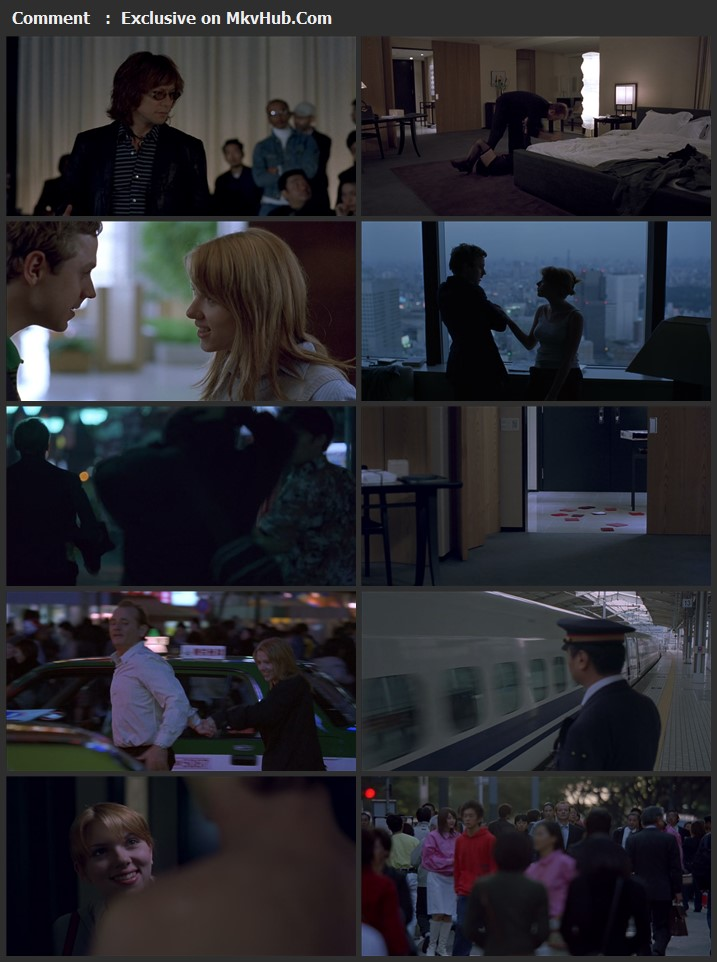 Lost in Translation 2003 English 720p BluRay 1GB Download