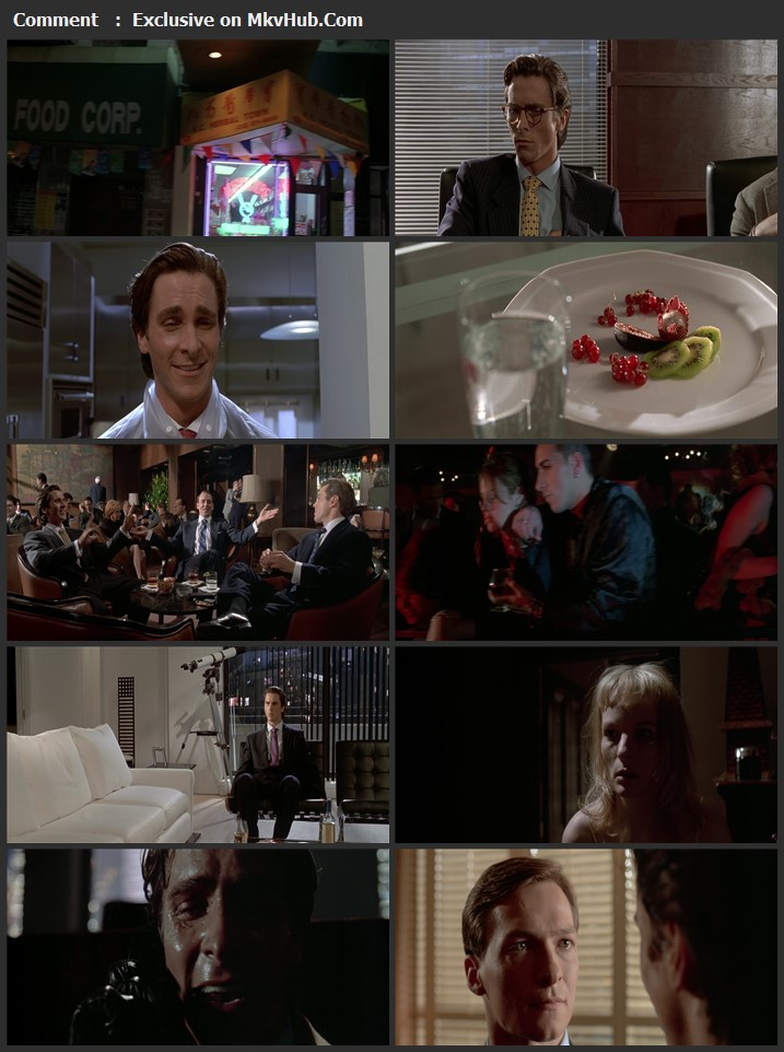 American Psycho 2000 English 720p BluRay 1GB Download
