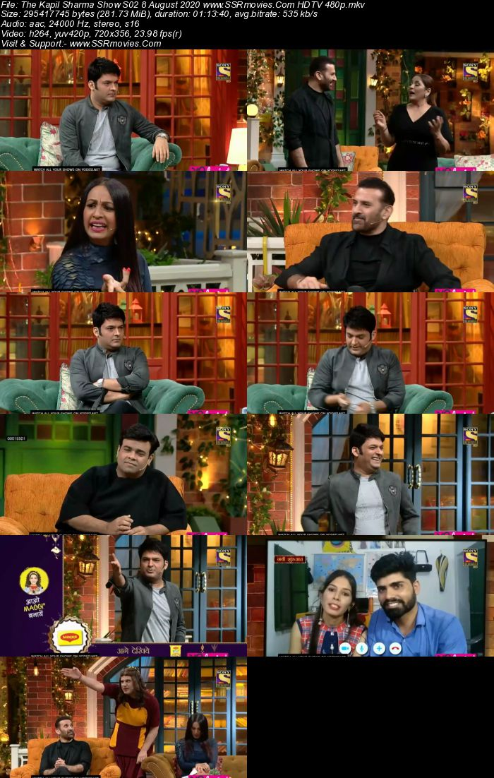 The Kapil Sharma Show S02 8 August 2020 Full Show Download