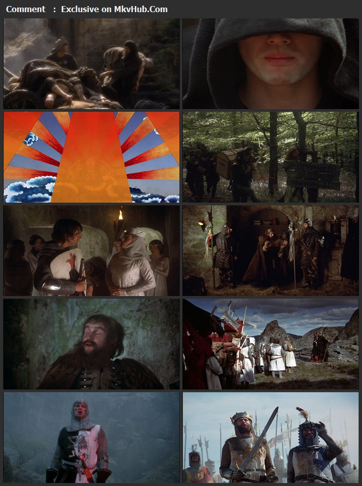 Monty Python and the Holy Grail 1975 English 720p BluRay 1GB Download