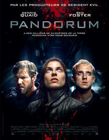 Pandorum 2009 Dual Audio [Hindi-English] 720p BluRay 950MB ESubs