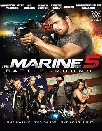 The Marine 5: Battleground 2017 Dual Audio [Hindi-English] 720p BluRay 800MB ESubs