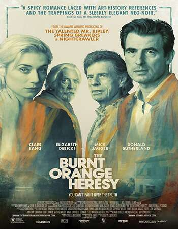The Burnt Orange Heresy 2020 English 720p WEB-DL 850MB Download