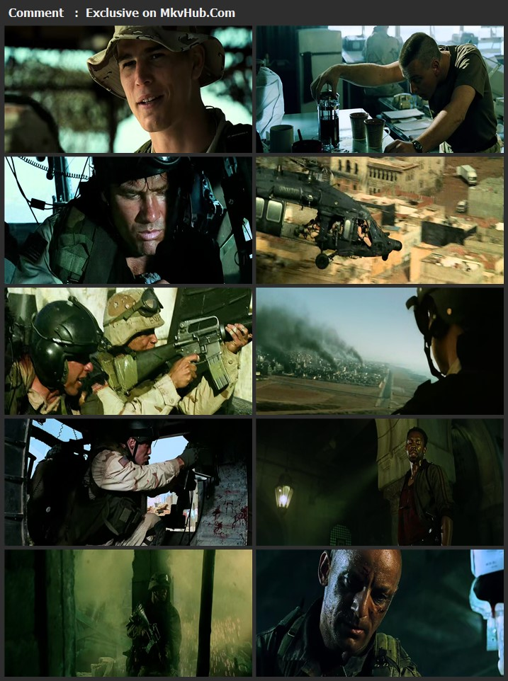Black Hawk Down 2001 English 720p BluRay 1GB Download