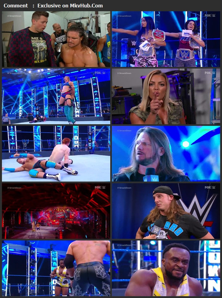 WWE Friday Night SmackDown 14th August 2020 720p HDTV x264 750MB Download
