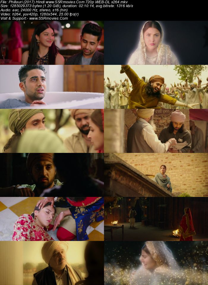 Phillauri (2017) Hindi 480p WEB-DL x264 400MB Full Movie Download