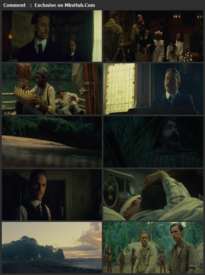 The Lost City of Z 2016 Dual Audio [Hindi-English] 720p BluRay 1.1GB Download