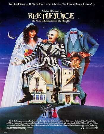 Beetlejuice 1988 English 720p BluRay 1GB ESubs