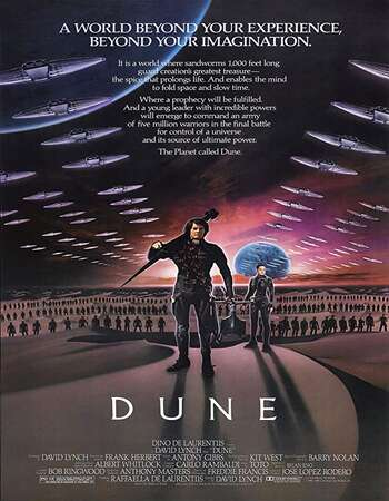 Dune 1984 English 720p BluRay 1GB ESubs