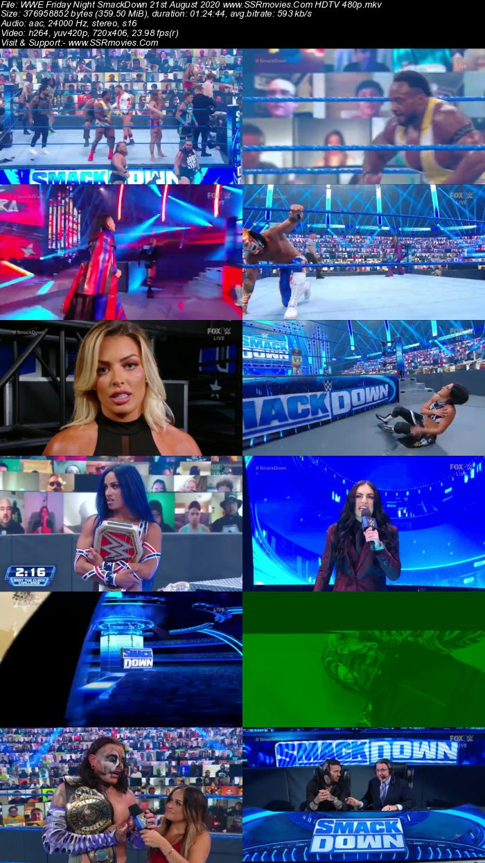 Thursday Night Smackdown 21st April 2016