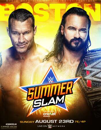 WWE SummerSlam 2020 720p PPV WEBRip x264 1.6GB Download