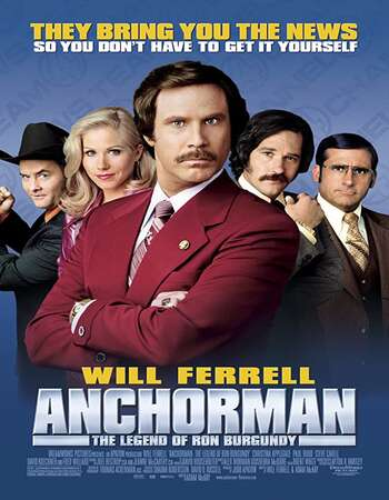 Anchorman: The Legend of Ron Burgundy 2004 English 720p BluRay 1GB ESubs