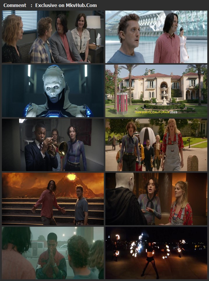 Bill & Ted Face the Music 2020 English 1080p WEB-DL 1.5GB Download