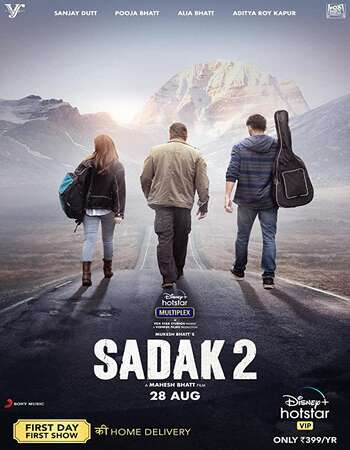 Sadak 2 2020 Hindi 1080p WEB-DL 2GB ESubs