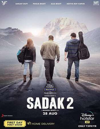Sadak 2 (2020) Hindi 1080p WEB-DL x264 2GB ESubs Full Movie Download