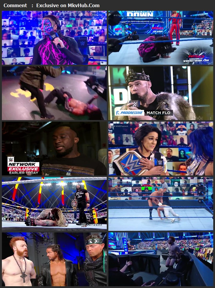 WWE Friday Night SmackDown 28 August 2020 720p HDTV x264 750MB Download