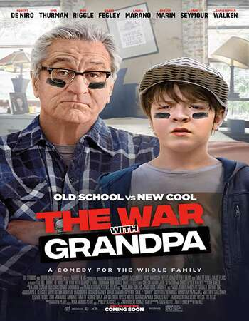 The War with Grandpa (2020) English 720p WEB-DL x264 850MB ESubs Full Movie Download