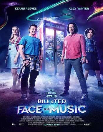 Bill & Ted Face the Music (2020) English 720p WEB-DL x264 800MB Full Movie Download