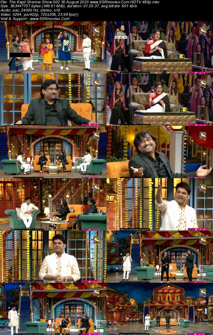 The Kapil Sharma Show S02 30 August 2020 Full Show Download HDTV HDRip 480p 720p