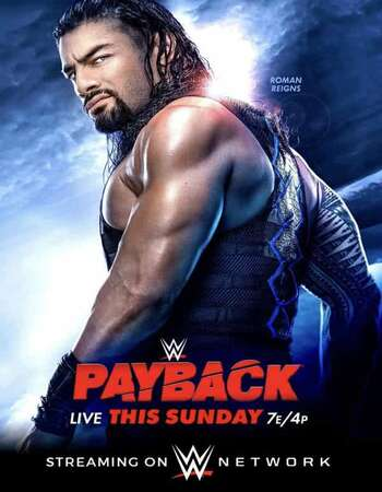 WWE Payback PPV 30th August 2020