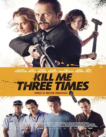 Kill Me Three Times 2014 Dual Audio [Hindi-English] 720p BluRay 850MB ESubs
