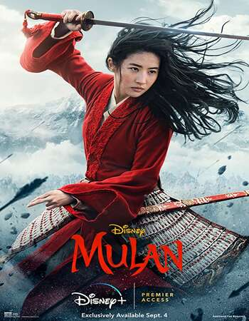 Mulan 2020 English 1080p WEB-DL 1.9GB ESubs