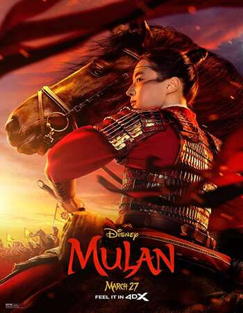 Mulan (2020) English 480p WEB-DL x264 350MB ESubs Full Movie Download