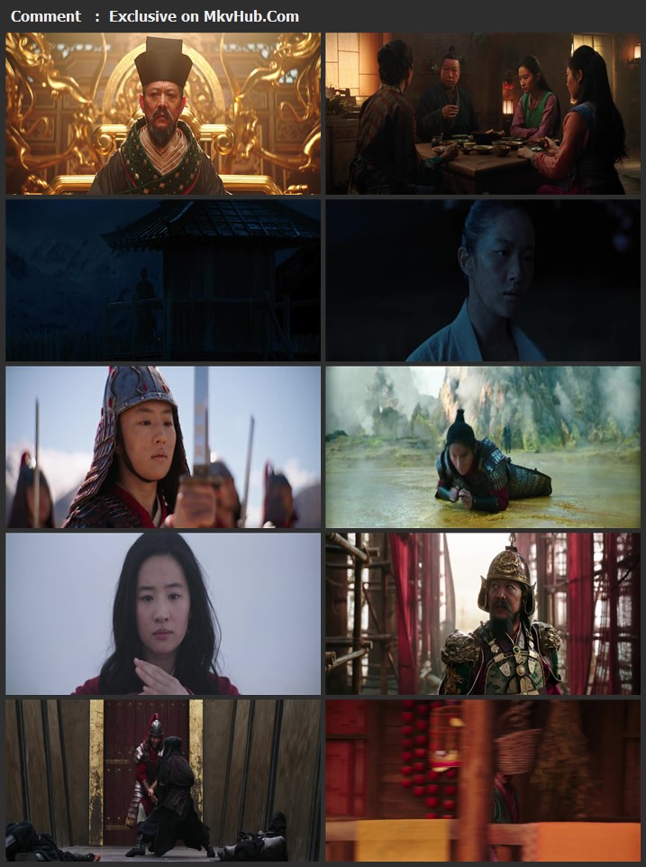 Mulan 2020 English 1080p WEB-DL 1.9GB Download