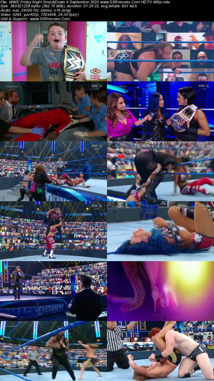 WWE Friday Night SmackDown 4 September 2020 Full Show Download