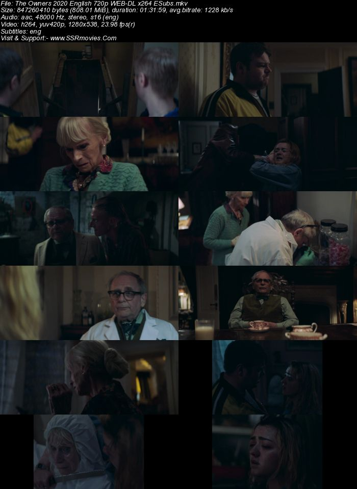 The Owners (2021) English 720p WEB-DL x264 800MB Full Movie Download