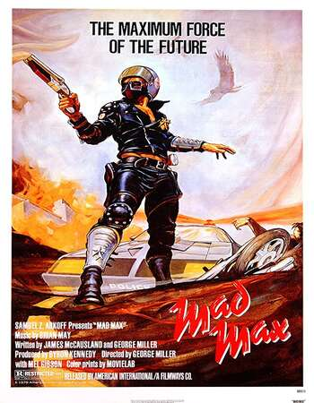 Mad Max 1979 English 720p BluRay 1GB ESubs