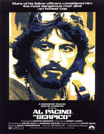 Serpico 1973 English 720p BluRay 1GB ESubs