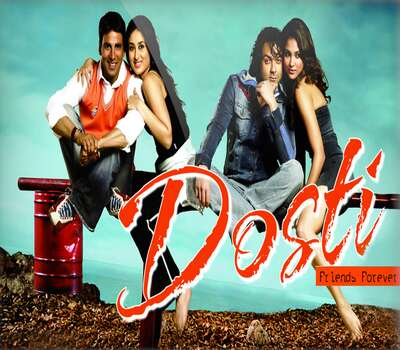 Dosti: Friends Forever (2005) Hindi 720p WEB-DL x264 1GB Full Movie Download