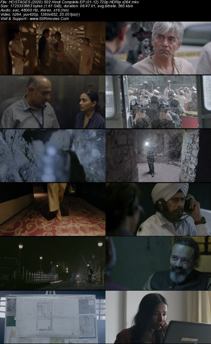 Hostages (2020) S02 Complete 720p HDRip x264 1.6GB Download