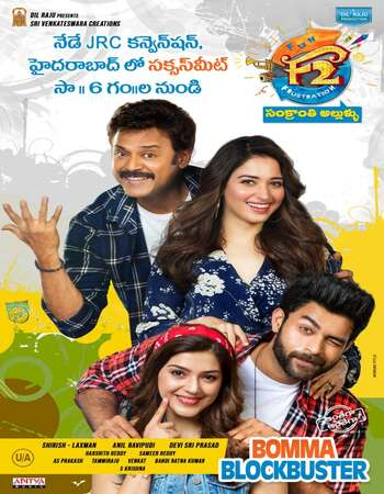 F2: Fun and Frustration (2019) Dual Audio Hindi ORG 480p HDRip 500MB Full Movie Download