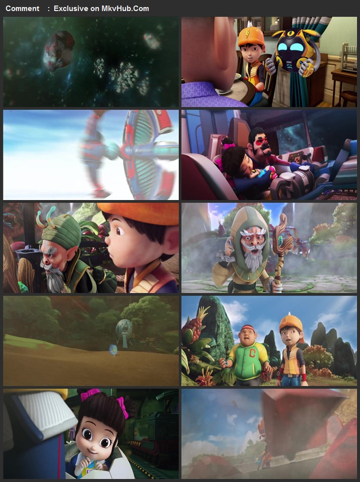 BoBoiBoy Movie 2 2020 English 720p WEB-DL 1GB Download